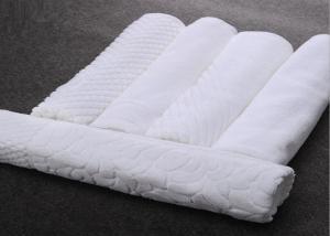 China 100 Percent Cotton Towel Hotel Bath Mats Square / Oval Shape Non Slip on sale