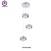 Pendant lamp, crystal chandelier, newest unique design crystal pendant lamp for dining room-2641-3