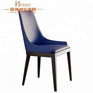China Wooden Hotel Dining Chair Black Walnut Color Furniture For Sale on sale