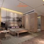 Solid oak wood plywood furniture hotel bedroom furniture sets