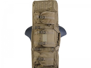 China Gun Bag Polyester Double Carbine Soft Case Accessory Pouches MOLLE Webbing on sale