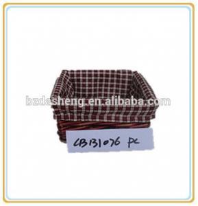 China wicker basket for storage on sale