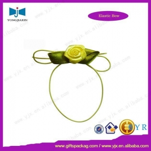 China rosette pre-tied bow factory,rosette pre-tied bow company bow angency on sale