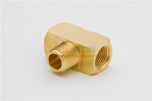 China Brass female-male T fittings on sale