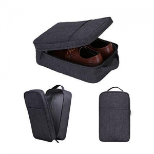 China Portable Travel Shoe Bags With Zipper Closure on sale