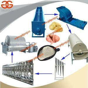 China High Efficiency Cassava Starch Making Machine|Cassava/Potato/Corn/Wheat Starch Production