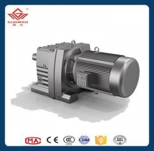 China China manufacture high precision helical gear box with electronic motor on sale