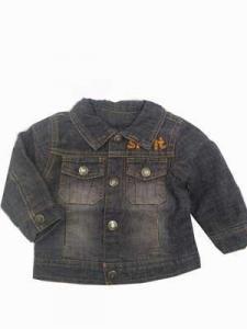 China Baby Coat Wholesale Baby Jean Jacket on sale