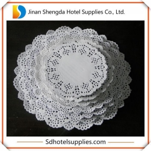 China White Paper Coasters on sale