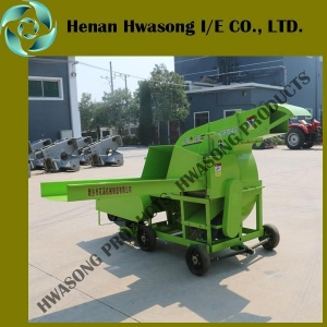 China 9RC-1200 Tractor Drive PTO type Silage chopping machine with generator on sale