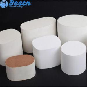 China DOC POC SCR Catalytic Converter Aluminium Honeycomb Ceramic for Gasoline Engine on sale