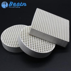 China BBQ Gas Grill Burner Cordierite Infrared Honeycomb Ceramic Board on sale