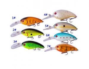 China Fishing Equipment Hard Plastic Body Fishing Lures on sale