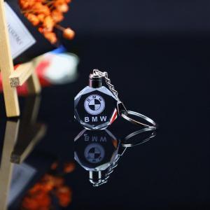 China Promotional Gift Crystal Keychain LED Light on sale