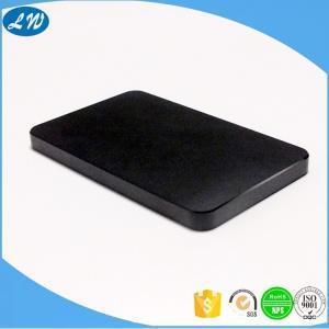 China Precision black aluminum mobile phone housing enclosure case on sale