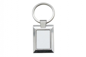 China A23 Metal Keychain Sublimation Blanks on sale