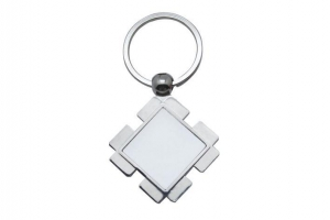 China A22 Metal Keychain Sublimation Blanks on sale
