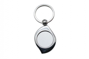 China A47 Metal Keychain Sublimation Blanks on sale