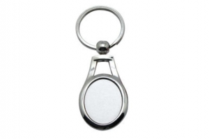 China A82 Metal Keychain Sublimation Blanks on sale