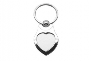 China A71 Metal Keychain Sublimation Blanks on sale