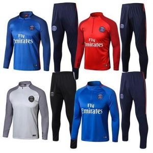 China PSG Soccer Tracksuits on sale