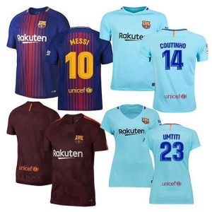 China Barcelona Soccer Jerseys on sale