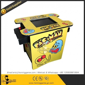 China New style arcade cocktail table pacman game machine with 60 games on sale