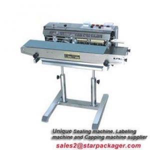 China bag heat tape cutting sealing machine on sale