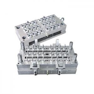 China 24 Cavities Valve Needle Hot Runner PET Bottle Preform Injection Mould on sale