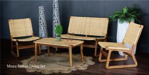 China Muzu Rattan Living Set Arm Chair on sale
