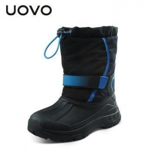 China UOVO 2016 Waterproof Girls Boots Ski Cloth Kids Boots Nonslip Girls Winter Snow Boots on sale