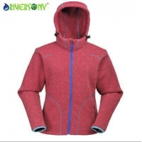 Rose Color Nice Sweater Jacket for Woman
