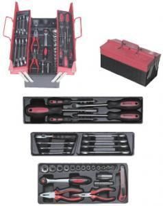 China PLIERS & PIPE WRENCH cantilever tool boxes with trays on sale