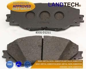 China low metal brake pad wva 24942 24943 24944 24945 D673-7554 CD8171M for CHEVROLET/BUICK on sale