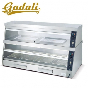 China Chinese Restaurant Kitchen Equipment Electric Food Warmer For Catering With Display on sale