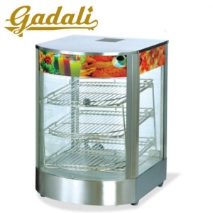 China Commercial Electric Heat Hot Food Warmer Display Showcase on sale