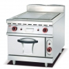 China Gas Griddle 1/3 Grooved with and Gas Oven 900 for sale