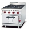China Gas Range with 4 Burner with and Gas Oven 900 for sale