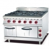 China Gas Range with 6 Burner and Electric Oven 900 for sale