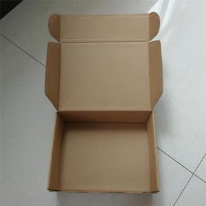 China Flat Packed E Flute Corrugated Cardboard Mailer Box on sale