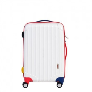 China Kids Luggage Air Wheel Trolley Luggage 18-inch Candy Color Check-in Suitcase on sale