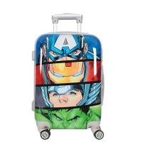 China Customized Children Kids 20 24 28 Inch Hard Shell Rolling Spinner Custom Printed Luggage on sale