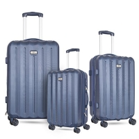 China 20/24/28 inch size expandable suitcase unique pc abs luggage sets on sale