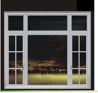 China ALUMINIUM WINDOW & DOOR casement window with grill design 3 on sale