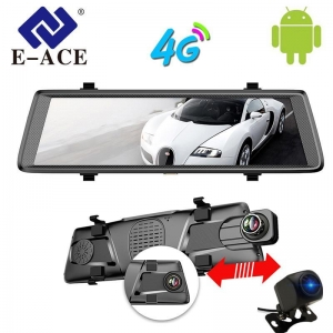 China EA405 Car GPS Navigation Tracker 10IPS 4G Car Dvr Android Mirror on sale