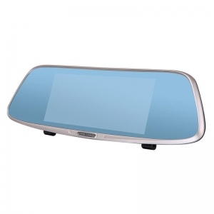 China EA104 7.0 Inch Car Dvr Mirror Touch Screen Display Super Night Vision on sale