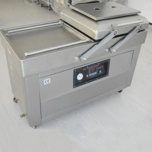 China Packing machine LY-500 / 2SD double chamber stretch vacuum packaging machine on sale