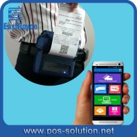 China 3inch Battery Powered Mobile Android Bluetooth Thermal Printer on sale