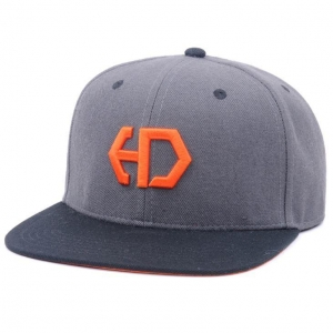 China Snapback Cap 3D Embroidery LOGO Snapback Caps 100% Cotton Twill on sale