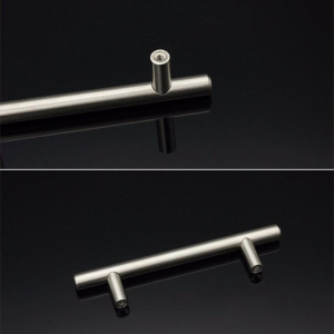 China Brushed Nickel Kitchen Drawer Pull and Door Knobs on sale